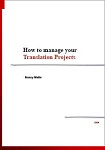 How to manage your translation projects